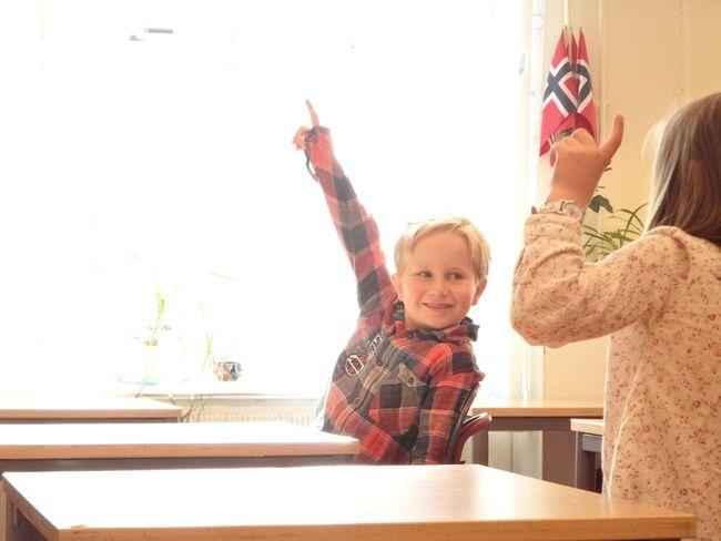 Skolestart første klasse