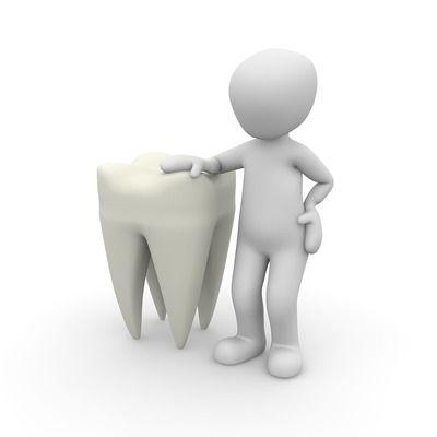Tann som blir passet på