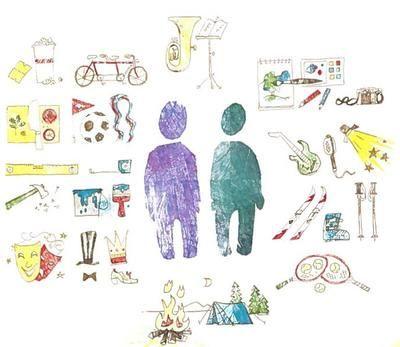 Illustrasjon, støttekontakt