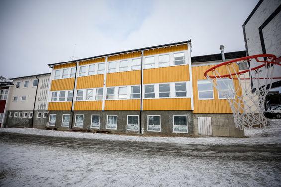 Sørvik skole. Foto: Øivind Arvola