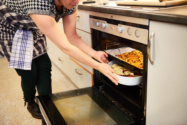 Værftetkjøkkenaktivitet