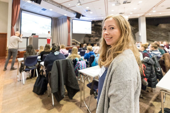 Koordinator for ungdomsrådet og BUK i Harstad kommune, Maria De Paoli.