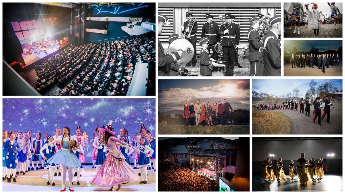 Eksempler fra kulturlivet i Harstad. Foto: Øivind Arvola