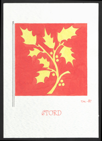 Kommuneflagg 1987