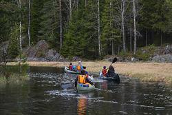 Åmotdammen er et lett tilgjengelig nærvann for nærmere 20 000 mennesker fra minst tre kommuner. Foto: Marie Helene Walle.