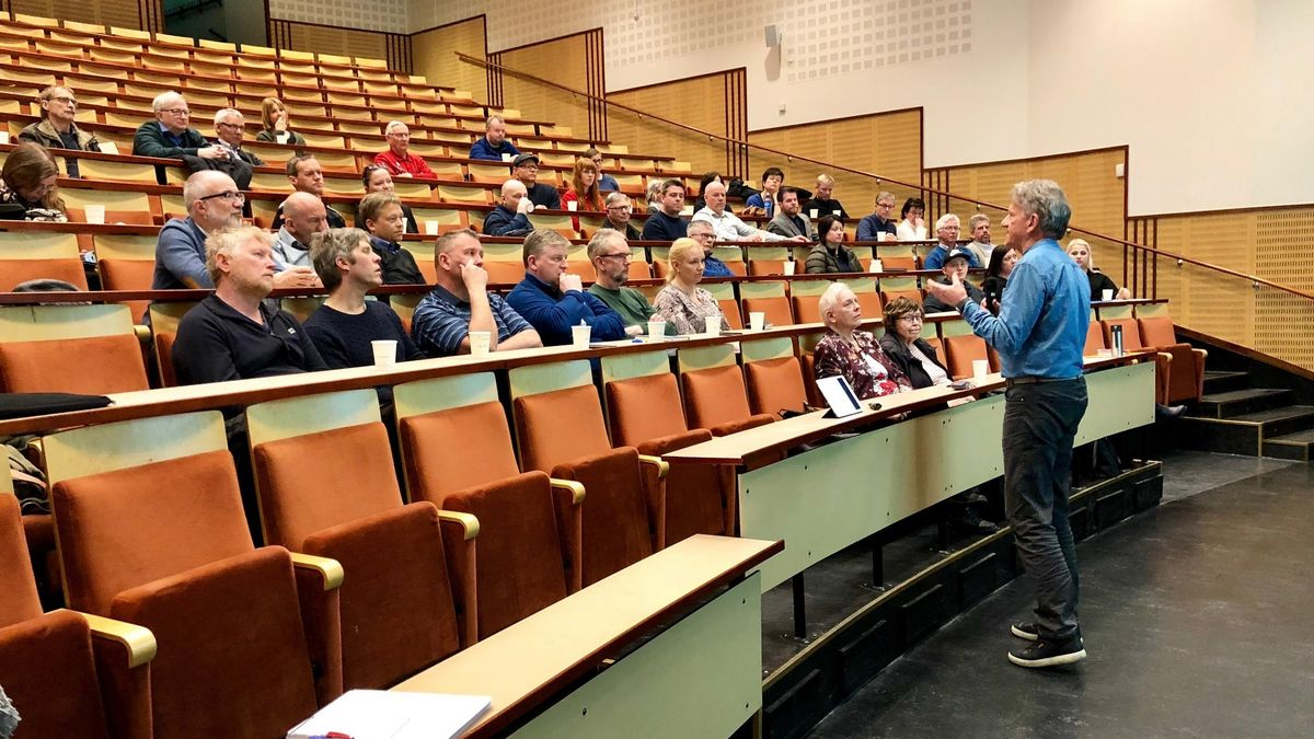 Fra innspillsmøtet for ny kulturplan. Foto: Øivind Arvola