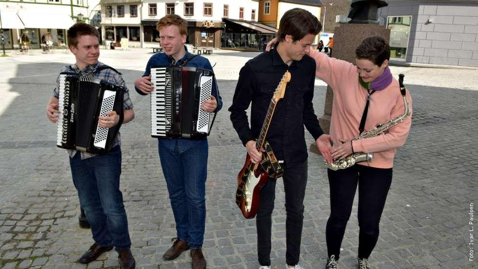 Bymusikanter foto Ivar L