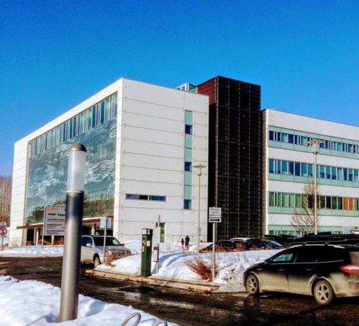 Bilde av TKNN bygget