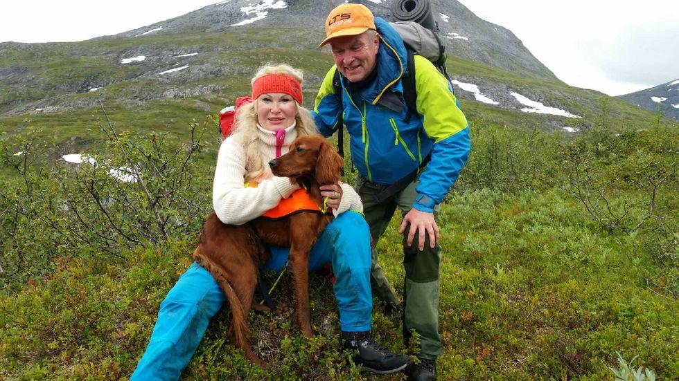Hadselsøyas Riska med eiere Bjørn Hugo Hansen og Marit Lund Hansen