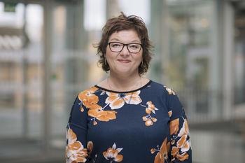 Grete Ollila, seksjonsleder for skole og voksenopplæring.