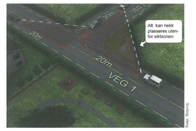trafikksikkerhet Hekk