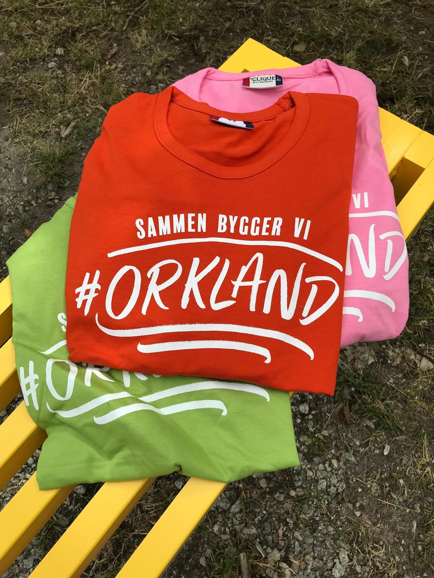 T-skjorter Nye Orkland