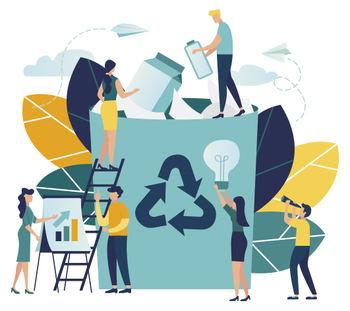 Temapark for miljø og resirkulering