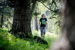 Anne Sverdrup-Thygeson har forsket mye i Østmarka, og hennes kritikerroste bok om insekter er solgt til 14 land. Foto: Håkon Sparre, NMBU.