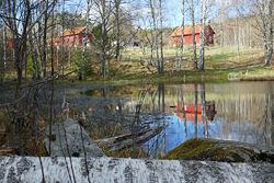 Sørli besøksgård ligger godt plassert i et av de flotteste og mest brukte områdene i Østmarka. Foto: ØV.