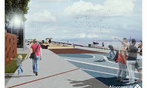 Skissefase_Havnepromenaden - illustrasjonsplan og 3d-illustrasjonar_high quality print_Side_2