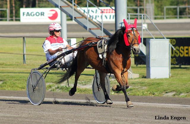 Røeds Roxi og Sivert Sandaker