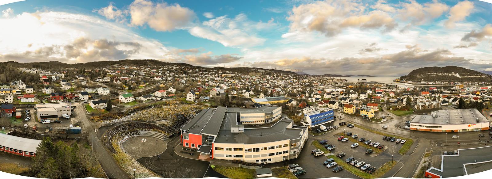 Seljestad drone panorama 2018