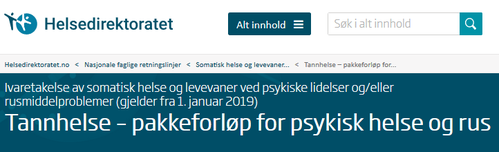 Helsedirektoratet.no