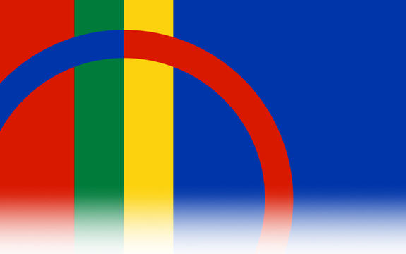 Bilde av Samenes flagg