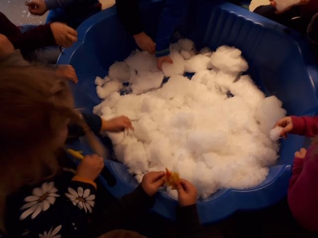 snø i balje