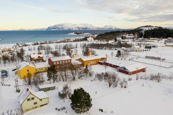 Bjarkøy skole. Foto: Øivind Arvola