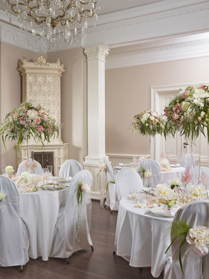 Interflora anne maries blomster, bryllup borddekor