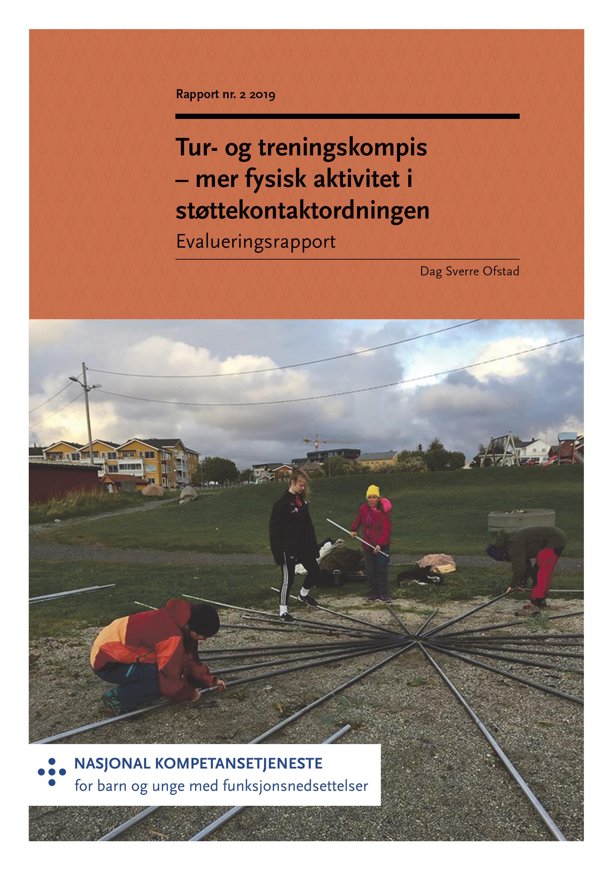 Omslagsbilde til rapport om Tur- og Treningskompis
