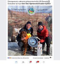 190407 Geir Olav Bjerkevoll og Elisabeth Gjellan_US Speedy_1 UK