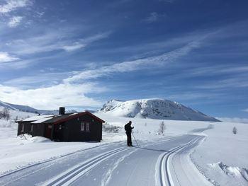 Trollvassbu vårskitur, Tromsø