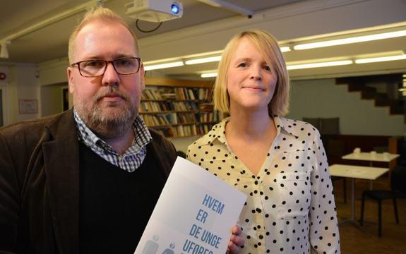 Bilde av generalsekretær Tor Bernhard Slaathaug i Rettferd for taperne og forsker Tonje Fyhn