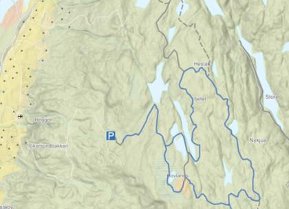 heståshovlandsfjell
