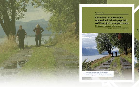 Ingressbilde til rapport om uteaktiviteter etter rehabilitering