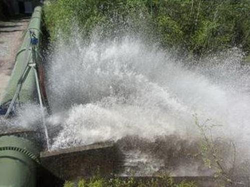 Spyling av vannledningsnettet
