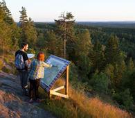 Utsikt fra Tømmerås