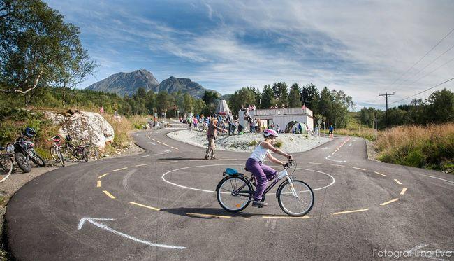 Bilde av sykkelskolen