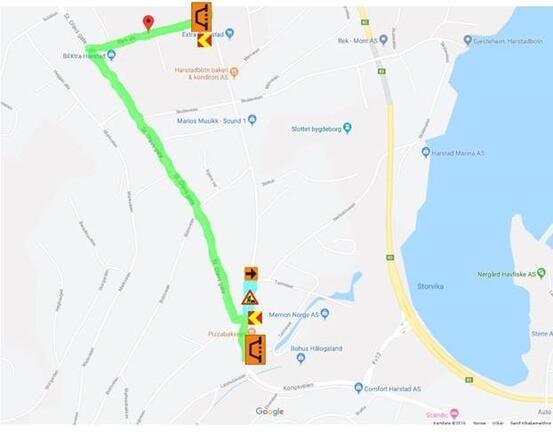Omkjøring Seljestadveien