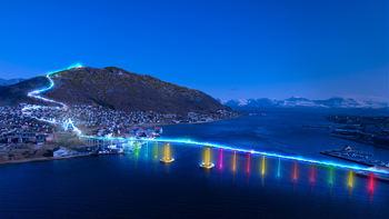 31. august blir det nattevandring opp Sherpatrappa i Tromsdalen.