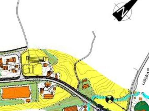 plan for veien Skalstad-Stalsberg