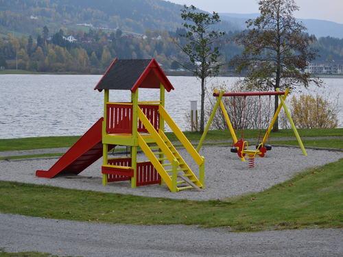 lekeplass Vikersund nord