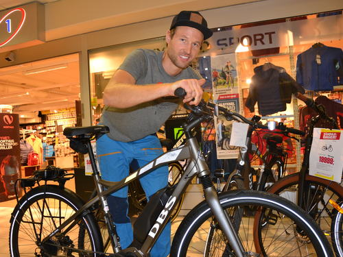 sykkelutlån- Magnus Bergan