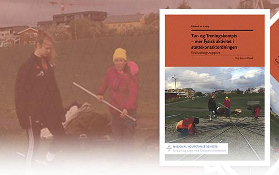 Ingressbilde til evalueringsrapport om Tur- og Treningskompis