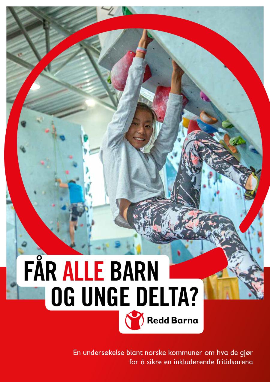 Bilde av omslaget til Redd Barna rapport