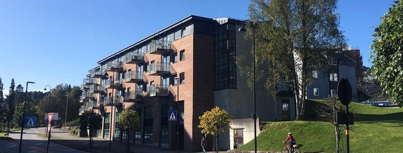 Bygget i Bandadalsplassen - foto