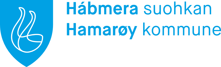 Hábmera suohkan - Hamarøy kommune logo