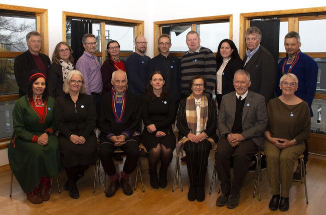 Kommunestyret Hamarøy 2019-2023.
