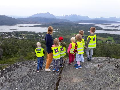 På tur med Marielund barnehage