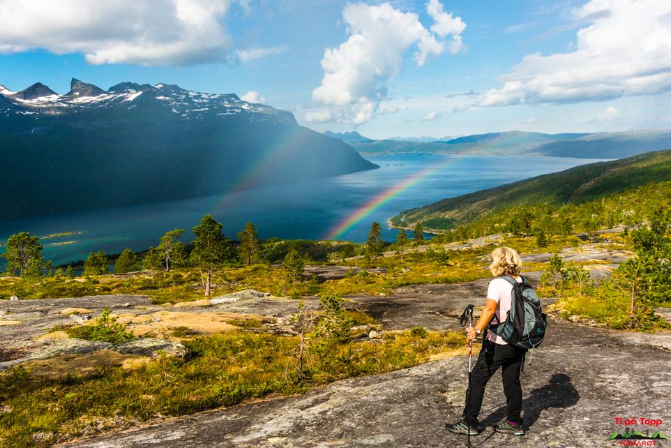 Utsikt fra Kjerrnigvassfjellet