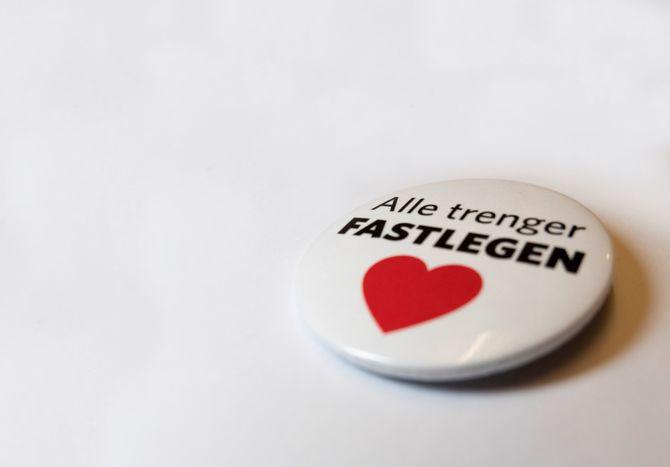 Button Fastlegedagen