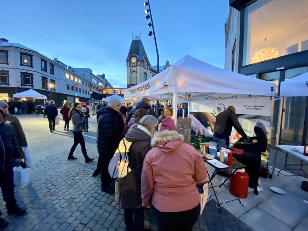 Fra Bondens marked, desember 2019. Foto: Øivind Arvola